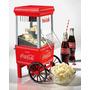 Pipoqueira Elétrica Coca-cola Retrô Anos 50, 60, 70 1200 Wat
