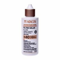 Protetor Solar Tonalizante Beige Filtro Solar Fps 40 Adcos
