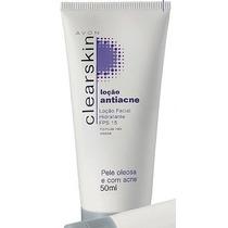 Avon Clearskin Loção Facial Hidratante Fps 15. 50ml