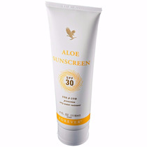 Aloe Sunscreen Forever Living Protetor Solar Fps 30