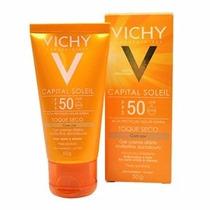 Protetor Solar Vichy Capital Soleil Fps 50 Toque Seco Cor