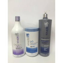 Ox Mat 35 Vol + Pó Descolorante +matizador Blond Souple Liss