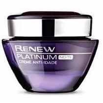 Renew Platinum 50g - 1 Creme Noite - Avon