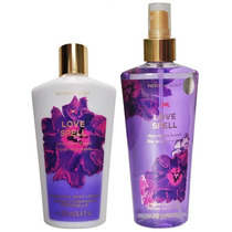Victoria`s Secret Kit Hidratante E Splash Love Spell +brinde