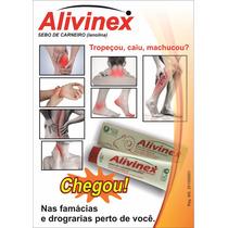 Alivinex - Com Sebo De Carneiro Tira Dor - 100% Original