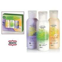 Cremes Hidratantes Kit Com 3 Avon Naturals Corpo