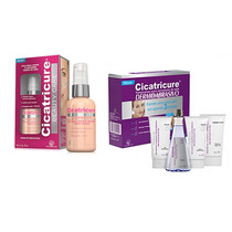 Kit Cicatricure Antirrugas 50ml + Kit Dermoabrasivo C/ 4 Und
