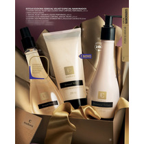 Kit Eudora Sensual Velvet Hidratante Sabonete Mist Natal