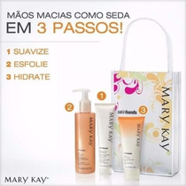Kit Mãos De Seda Honeydew Satin Hands Mary Kay