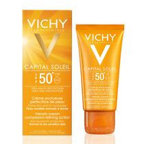 Capital Soleil Toque Seco Fps50 Vichy 50g Protetor Solar