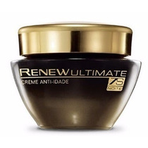 Renew 45 + Ultimate 7s Creme Noite 50g Avon