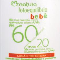 Gel Creme Protetor Natura Para O Bebê Fator 60/20 De 50ml