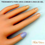 Mão Postiça Para Treino Manicure Acrigel + Disco De Unhas Po