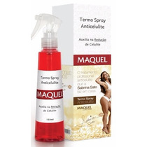 Termo Spray Anticelulite Maquel 150ml Sabrina Sato
