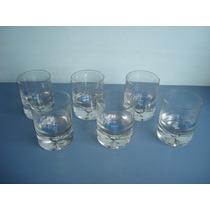 Jogo De 6 Copos De Coquetel Antigos Da Wodka Wyborowa