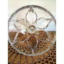 Taça Cristal Grande Decoração Poncheira 21 Cm Diâmetro