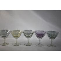 Taças De Champanhe, Antiguidade, Qualidade E Beleza. 5 Peças
