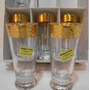 *21406* Jogo De 6 Copos Para Licor Cristal Italiano