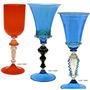 Taça Cálice Em Cristal Murano Original Lindo Item De Coleção