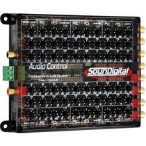 Equalizador Crossover Soundigital Sound Control - 3 Vias Rca