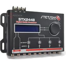 Processador De Áudio Automotivo Stetsom Stx2448 Crossover
