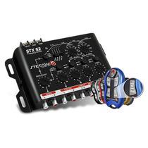 Crossover Automotivo Stetsom Stx52 + Controle Stetsom Sx2