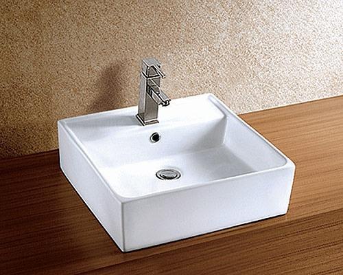 Cuba De Apoio De Cerâmica Branca Meva Modelo Qca  2024  R$ 251,18 no Mercad -> Cuba Banheiro Branca