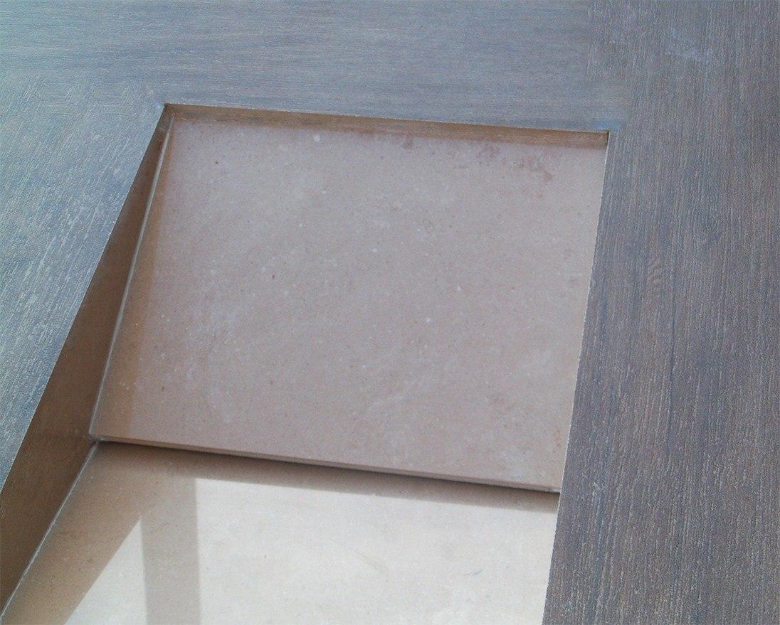 Cuba Para Banheiro Em Porcelanato Arthome R$ 249 00 no  #5B493C 1096x879 Bancadas De Banheiro Com Porcelanato