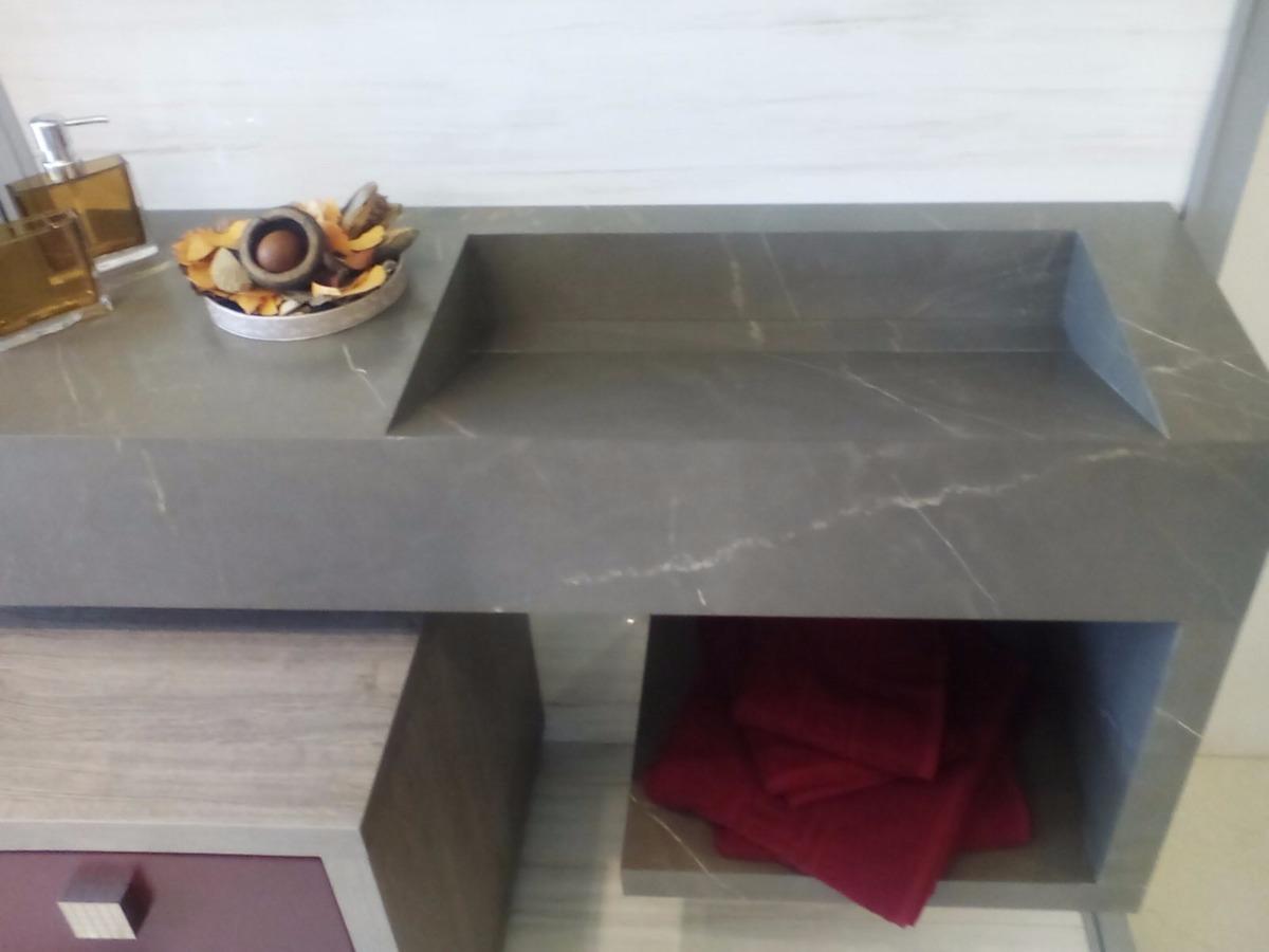 Cuba Para Banheiro Em Porcelanato Preto  arthome R$ 180 00 no  #5F4037 1200x900 Banheiro Com Porcelanato Preto