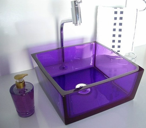 cuba para banheiro modelos coloridas e de diferentes modelos -> Armario De Banheiro Com Cuba Quadrada