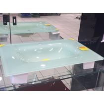 Lavatório Reti De Apoio Em Vidro Esmaltado Branco 740 X 490