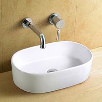 Cuba Banheiro De Sobrepor Porcelana Vitrificada Linda 8183