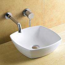 Cuba Banheiro De Sobrepor Porcelana Vitrificada Linda 8251