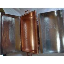 Réchaud Cobre Retangular Metal Arte