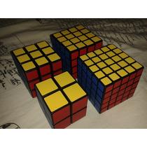 Cubo Mágico 2x2x2, 3x3x3, 4x4x4, 5x5x5 Shengshou (4 Cubos)