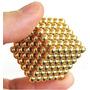 Cubo Magnético Neocube 5mm Dourado 216 Pcs - Pronta Entrega