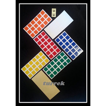 Adesivo Para Cubo Magico Stickers 3x3x3 Dayan Envio Rápido