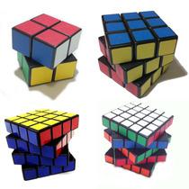 Cubo Profissional 2x2x2 3x3x3 4x4x4 5x5x5 Shengshou Black