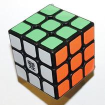 Cubo Mágico 3x3x3 Moyu Aolong V2 Preto Pronta Entrega