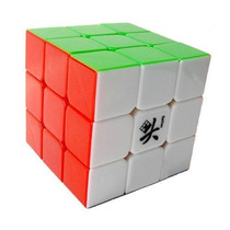 Cubo Mágico Profissional Dayan Zanchi 3x3x3 - Stickerless