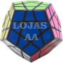 Cubo Mágico Profissional Megaminx Shengshou Black Imperdível