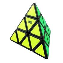 Puzzle Jinzita Moyu Pyraminx Preto Pirâmide Pronta Entrega