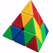Cubo Mágico Pirâmide Pyraminx -peças Coloridas -pronta Entrg