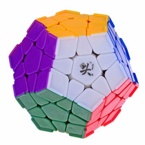 Cubo Mágico Dodecaedro 12 Lados Dayan Stickerless Megaminx