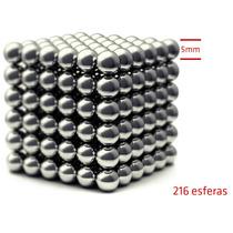 Neocube 5mm Cubo Magnético 216 Esferas Ímãs Neodímio + Caixa