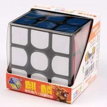 Cubo Mágico 3x3x3 Yuxin Kirin Preto Cubo Do Recorde Mundial