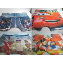 Kit 20 Cuecas Box Infantil Sublimada Atacado, Revenda, Boxer