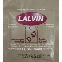 Levedura Lalvin D47 Para Vinho Hidromel Ou Cerveja