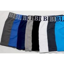 Lote De 9 Cuecas Box Boxer Microfibra Black Jack Sem Costura