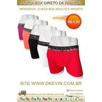 Kit 12 Cuecas Box Por Apenas 55,00 Direto De Nossa Fabrica